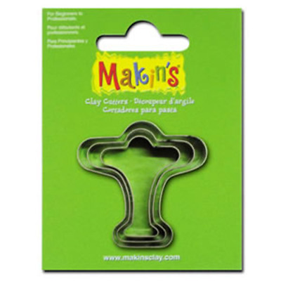 Makins Clay & Cookie Cutters - AIRPLANE shape (Set of 3) cake Fondant