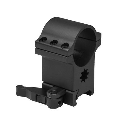 """NcStar 6 Bolt 1.5"""" Quick Release Tactical Weaver Rifle Scope Ring Mount RB24QR"""