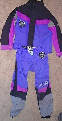 Fox Motorcycle Jacket and Pants Padded Classic Offroad Motocross Medium 36