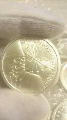 2012 SBSS Debt and Death original first release Silver round coin