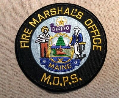 ME Maine Department of Public Safety Fire Marshals Office Patch