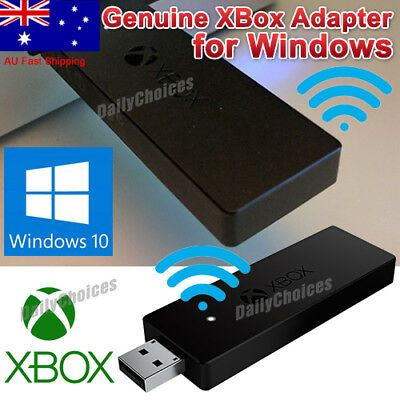 Official Microsoft XBOX One USB Receiver Wireless Controller Adapter Windows 10