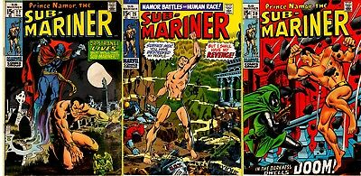 PRINCE NAMOR SUB-MARINER 3 issue Power-Pack Buy 1 Get 2 FREE, FREE SHIPPING!