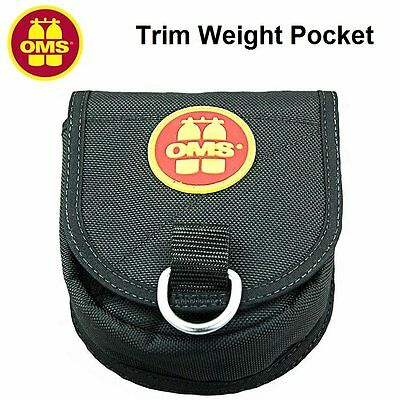 OMS Trim Weight Pocket 2.3kg (5lb) 11918003 BCD Buoyancy Control Device - AU