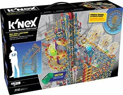 K And Rsquo;NEX Thrill Rides Big Ball Factory Building Set For Ages 12+, Toy,