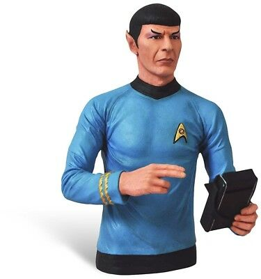 Star Trek - Mr. Spock Saving Banks Bust Figure - Great Gift For Fans - 20 Cm -