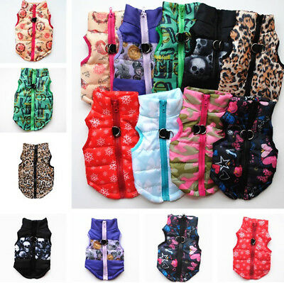 Dog Cat Coat Puppy Jacket Pet Supplies Clothes Clothing Winter Costume