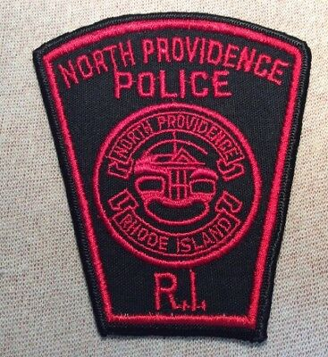 RI North Providence Rhode Island Police Patch