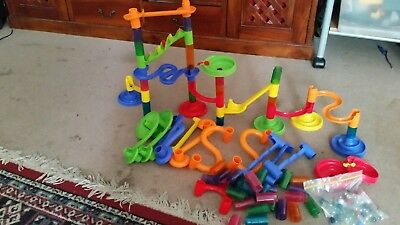 marble construction maze game