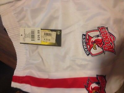 Sydney Roosters Nrl 2017 Classic Sportswear White Mens Adult Supp Shorts 3Xl