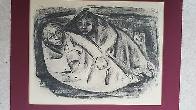 Große Lithographie (50x31cm)