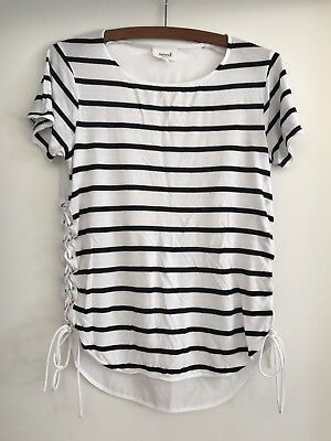 Seed Women's Striped T-Shirt Size Xs Excellent Condition