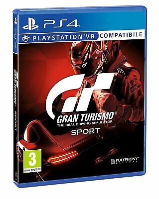 Gt Sport Ps4 - Gran Turismo Sport D1 Ps4 Multilingue Italiano Play Station 4