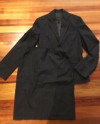 Country Road grey wool skirt suit jacket sz 6 and skirt sz 8