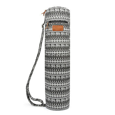 Elenture Full-Zip Exercise Yoga Mat Carry Bag with Multi-Functional Storage Pock