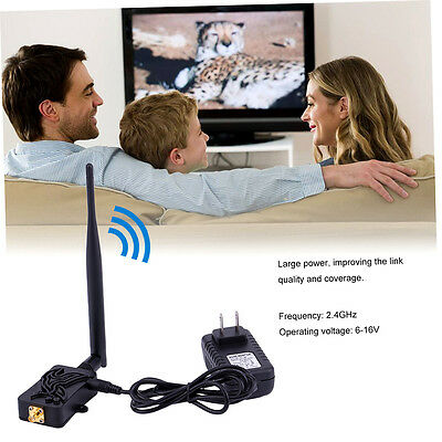 Professional 2.4GHZ 4W Wifi Broadband Amplifier Router Signal Booster GO