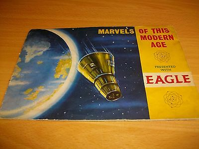 marvels of this modern age card album - the eagle comic - memorabelia