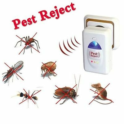 Ultrasonic Ionic Electronic Rat  Mice Spider Insect Pest Repeller Deterrent S!