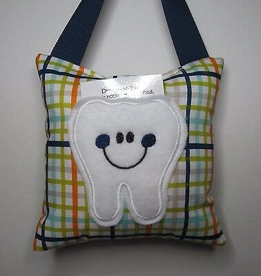 Tooth Fairy Pillow Plaid