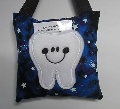 Tooth Fairy Pillow Stars Glow in the Dark