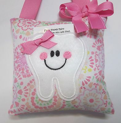 Tooth Fairy Pillow Pink Floral Waverly