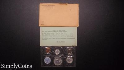1959 Proof Set ~ Original Envelope With COA ~ US Mint Silver Coin Lot SKU-487