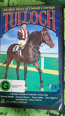 Tulloch - an epic story of untold courage - champion Australian racehorse - VHS