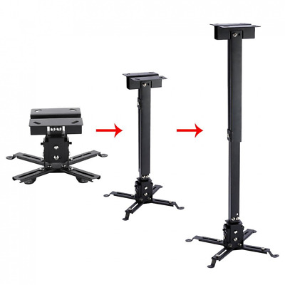 Projector Ceiling Mount LESHP Vaulted Bracket with Adjustable Extension Pole to