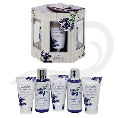 Body Collection Lavender & Sweet Pea Summer House Bath & Shower Gift Set