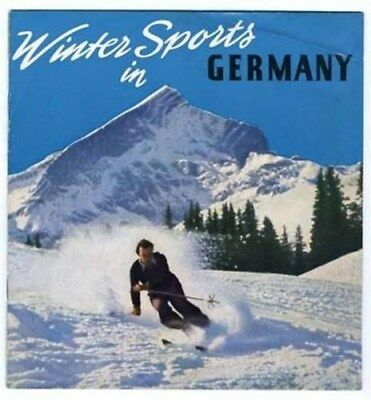 Winter Sports in Germany Booklet 1950's