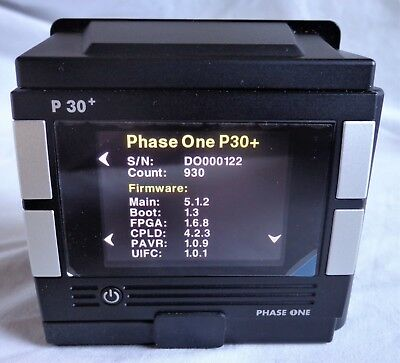 PHASE ONE P30+ Digital Back For Contax 645 AF Camera MINT Cond'n 930 Shots Only