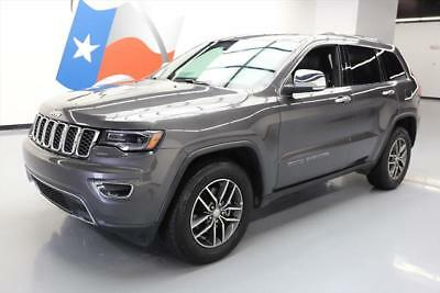 2017 Jeep Grand Cherokee Limited Sport Utility 4-Door 2017 JEEP GRAND CHEROKEE LTD PANO ROOF LEATHER NAV 14K #779188 Texas Direct Auto