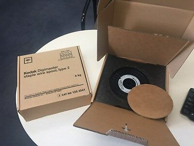 New Kodak DigiMaster Type 2 Staple Wire Spool 125-3541