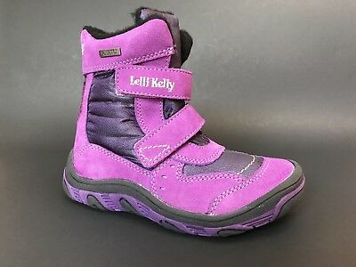 cfcac496fded6 Brand New LELLI KELLY Kids Girls Boots Waterproof LEATHER Size 10.5 USA/ 28  EURO