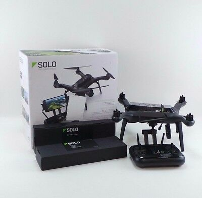 3DR Solo Smart Drone QUADCOPTER for GoPro Action Camera in Box Refurbished