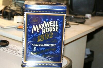 maxwell house coffee and tin