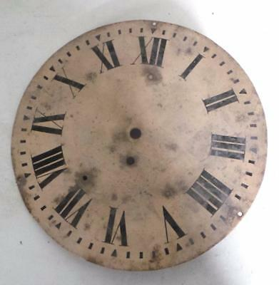 Antique Dial for wall clock - fusee dial for station or waiting room wall clock