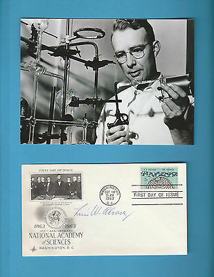 Luis W Alvarez (Nobel Prize Physics 1968)  Signed Natioal Academy Sciences FDC
