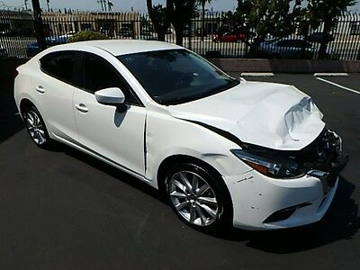 2017 Mazda Mazda3 i Touring 2017 Mazda Mazda3 i Touring Damaged Wrecked Repairable! Only 8K Miles! Gas Saver