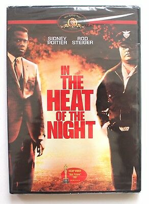 NEW! In the Heat of the Night DVD Sidney Poitier Rod Steiger 1967