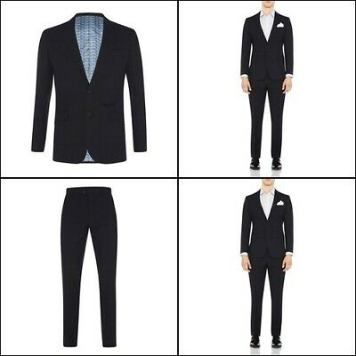 New Oxford NEW HOPKINS SUIT JACKET DK INK X WITH MATCHING TROUSERS