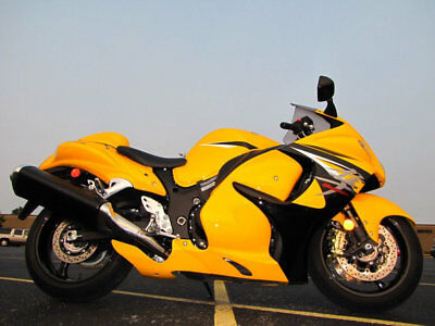 2013 Suzuki Hayabusa GSX1300R HAYABUSA 2013 SUZUKI HAYABUSA GSX1300R YELLOW STOCK CONDITION RUNS PERFECTLY 1,633 MILES
