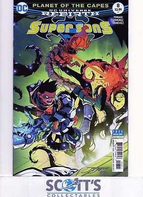 Super Sons  #8   New  (Bagged & Boarded)