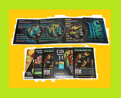 New & Sealed CORE DE FORCE Fitness Workout Set
