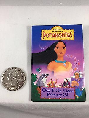 Promotional Badge for Pocahontas Video release