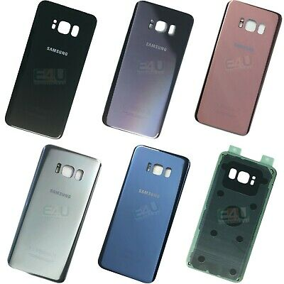 Back Rear Glass Replacement Battery Cover For Samsung Galaxy S8 / S8+ Plus