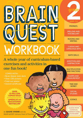 Brain Quest Grade 2 Exercises and Activities Workbook (common core)
