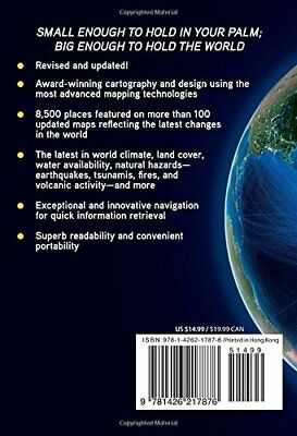 NG Compact Atlas of the World by National Geographic New Paperback Book