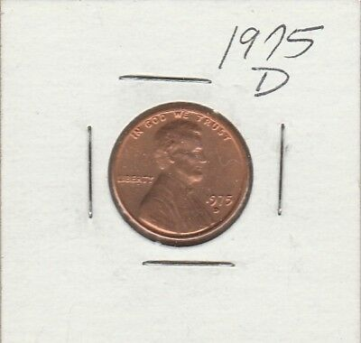 1975-D Lincoln Memorial Cent