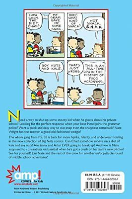 Big Nate: A Good Old-Fashioned Wedgie by Lincoln Peirce New Paperback Book